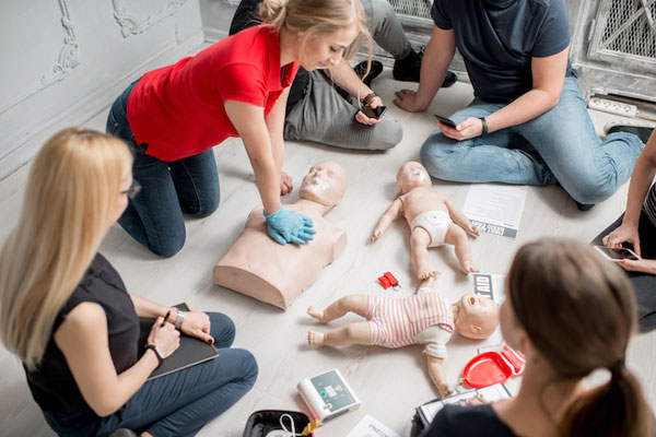 North Carolinians Learn Life-Saving Hands-Only CPR at Ballgame